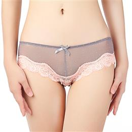 Make-Up Knickers Sexy Lace Thongs G-String Panties Knickers Lingerie Underwear Rust M L XL